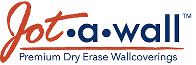 Jot·a·wall™ Dry Erase Wallcovering