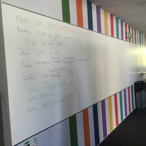 Smarter Surfaces dry erase