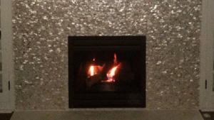 SHELLZ fireplace.